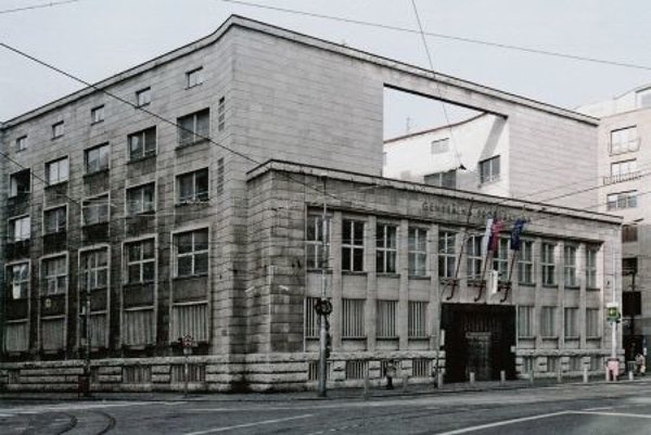 The Branch Office of the Czechoslovak National Bank (currently the seat of the General Prosecution) in Bratislava.