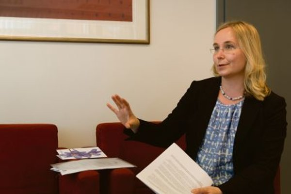 Chargé d'Affaires Henna Knuuttila