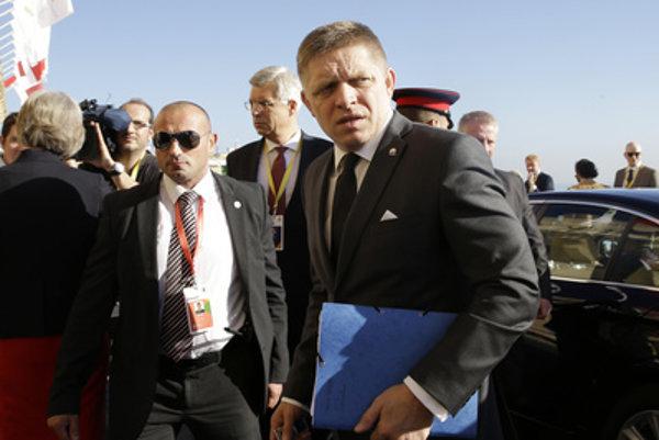 Prime Minister Robert Fico in Malta