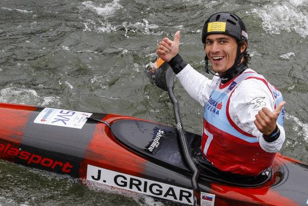 Jakub Grigar has a great athletic season.