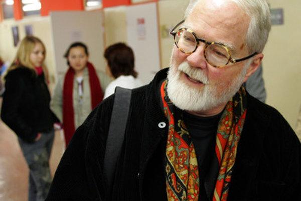 Robert Fulghum in Bratislava