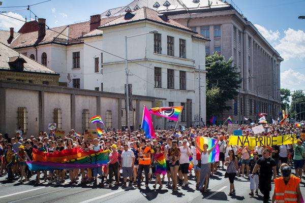 Dúhový / Rainbow Pride 2016