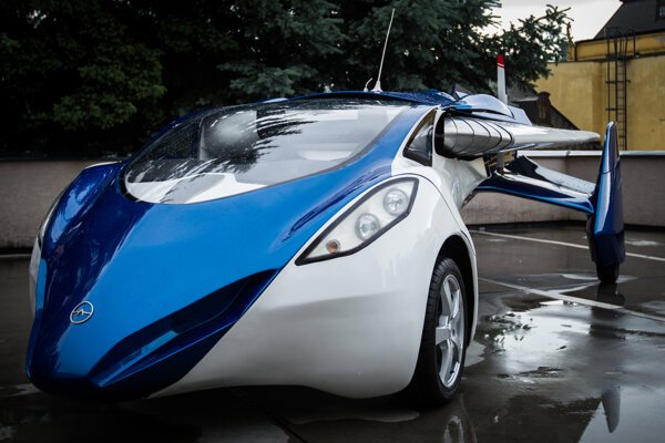 One of the most innovative products of Slovakia - Aeromobil designed by Štefan Klein.