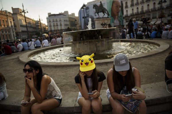 People all over the world meet together at joint hunts of Pokémon creatures.