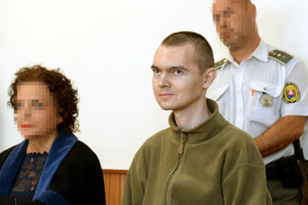 Ladislav Kuc in the courtroom.