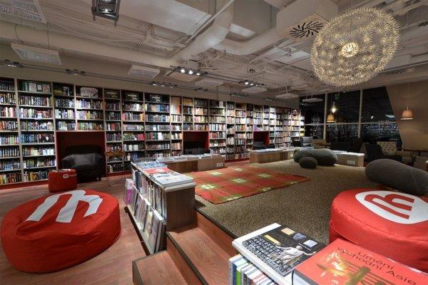 The bookstore of Martinus.sk in Cubicon
