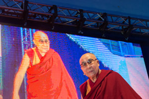 Dalai Lama in Bratislava