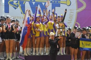 Diana majorettes won the title of World Champion
