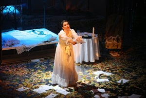 Tatyana suffers in Eugene Onegin
