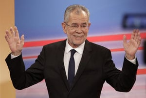 New Austrian President Alexander Van der Bellen who defeated the populist right-wing Freedom Party's Norbert Hofer in the repeated second round of presidential elections in Austria.