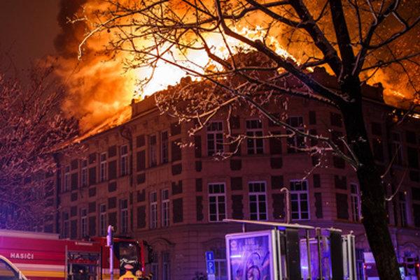 Faculty of Natural Sciences of UPJŠ Košice caught fire on December 9.