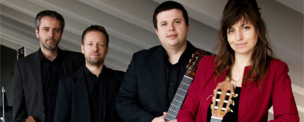 Thw Wroclaw Guitar Quartet (Michal Bąk, Kamil Bartnik, Bartlomiej Helwing, Anna Pietrzak)