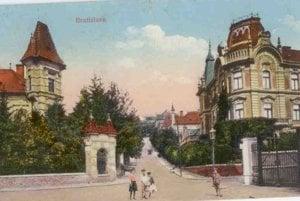 Kuzmány Street in Bratislava