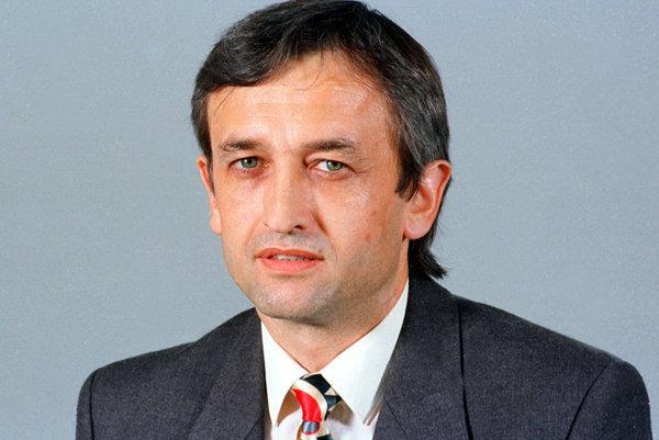 František Gaulieder back in 1996 hwen he was excluded from parliament.