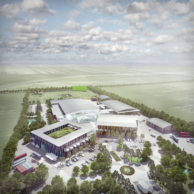 Visualisation of the Film Park Jarovce project