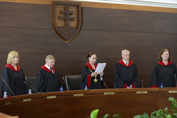 Some judges of the Constitutional Court; illustrative stock photo
