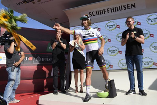 Sagan finally made it to the stage on June 17.
