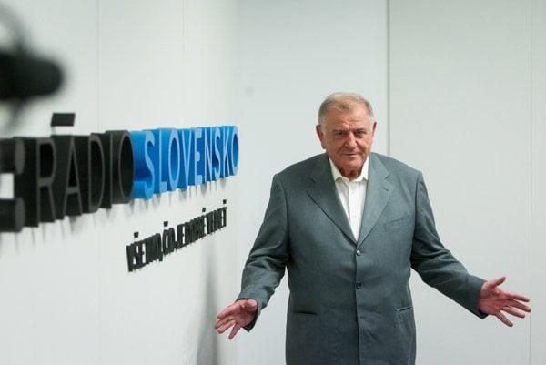Former Slovak PM Vladimír Mečiar