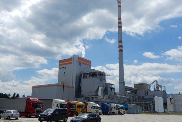 Paper mill Mondi SCP in Ružomberok