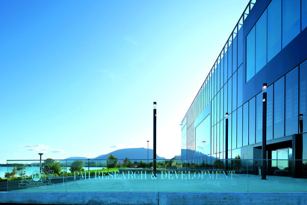 The Cube – top-equipped PMI centre of research and development PMI in Neuchâtel, Switzerland