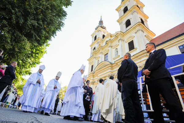 The national pilgrimage in Śaštín, September 15.