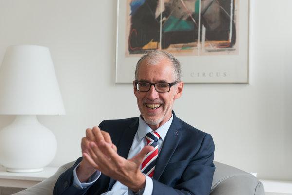 German Ambassador to Slovakia Joachim Bleicker