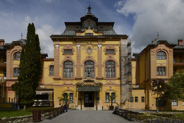 The Astoria Hotle in Bardejov Spa