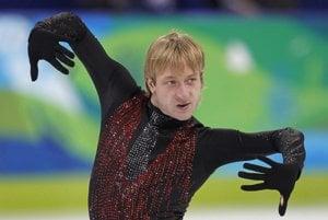 Figure skater Evgeni Plushenko brings his show on ice to Slovakia.