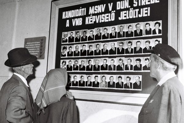 Elections during socialism regime.