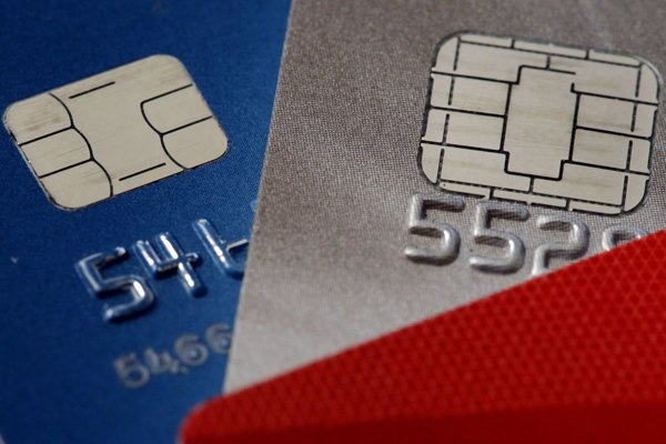 Payment cards were produced in Nitra, illustrative stock photo.