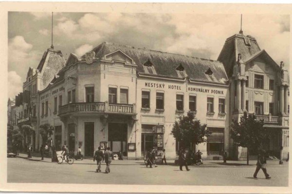 The Levb Hotel in Levice