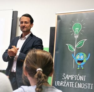 Marek, SSC Supply Chain and champion of sustainability