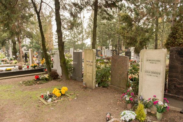 Vrakuňa Cemetery in Bratislava
