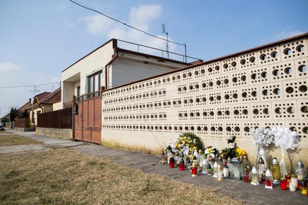Ján Kuciak's house in Veľká Mača