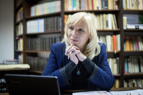 Former prime minister (2010-2012) Iveta Radičová.