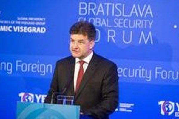 Slovak Foreign Affairs Minister Miroslav Lajčák