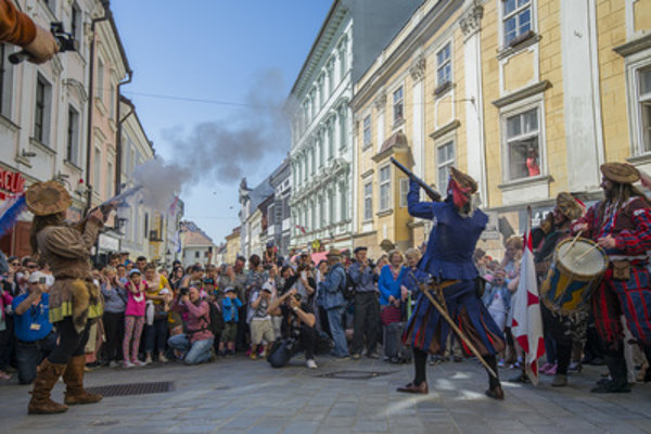 Bratislava gates and summer tourist seaosn opened April 21.