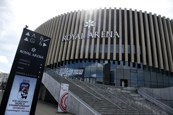 The Royal Arena in Copenhagen, Denmark
