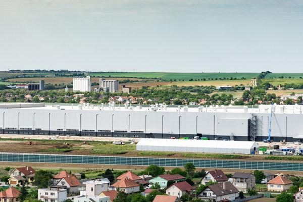 Jaguar Land Rover plant near Nitra