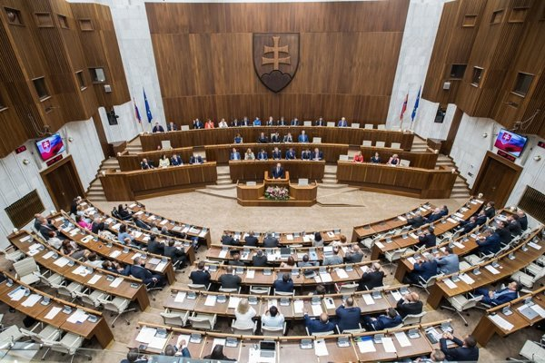 Slovak parliament, illustrative stock photo