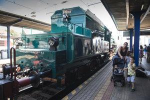 Presidential train arrive sin Bratislava, July 3