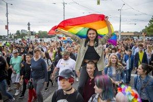 Rainbow Pride in Bratislava