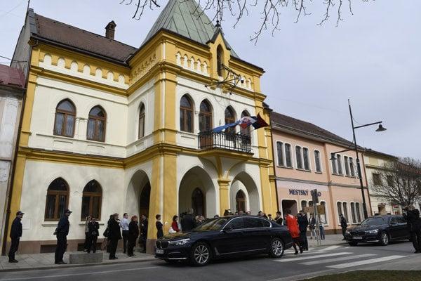 Sabinov town council, illustrative stock photo