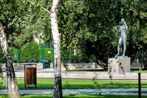 New look of Landerer's Park in Bratislava's Old Town
