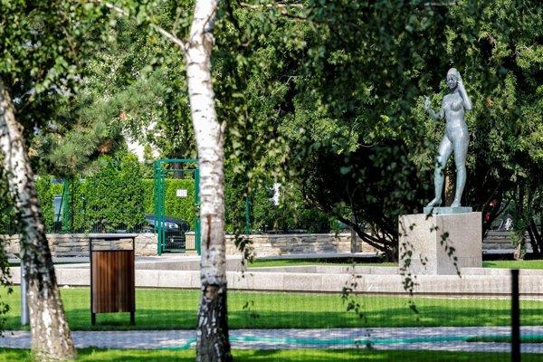 New look of Landerer's Park in Bratislava's Old Town
