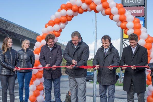 Ceremonial opening of Retail Park Liptovský Mikuláš