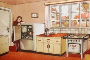 Fridge was one of the first home appliances that Slovak households would procure.