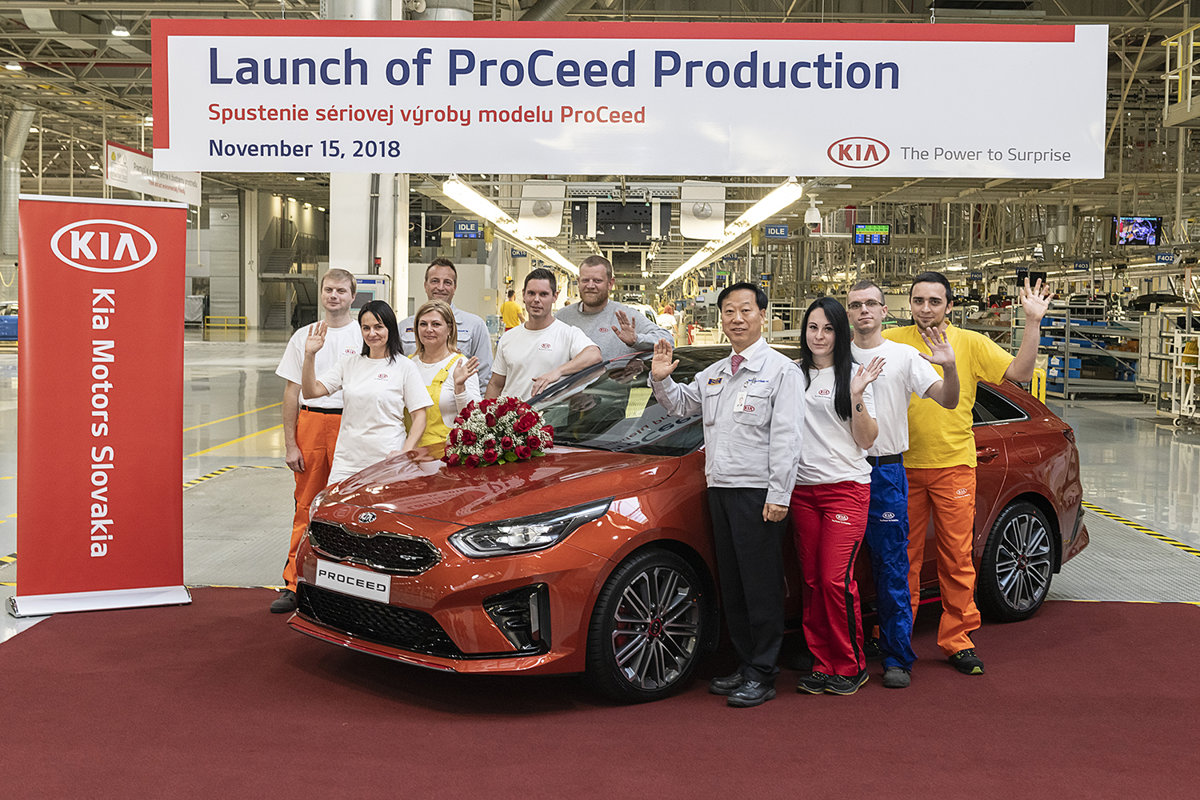 Kia kicks off production of the new ProCeed model - spectator.sme.sk 48d876b612