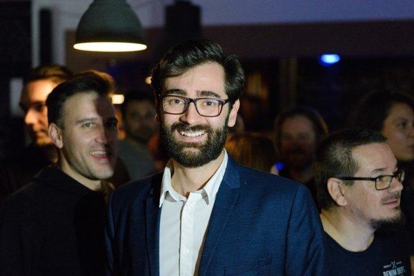 Marek Hattas on the election night