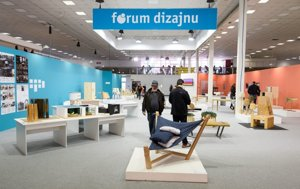 Design Forum is one part of the Furniture & Living exhibition in Nitra devoted to the works of students.